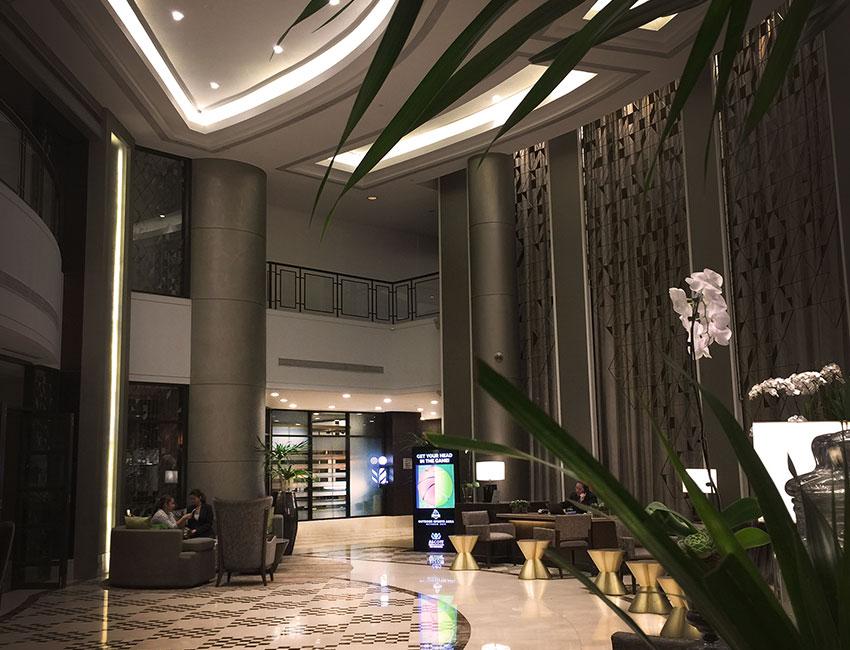 John Barbers Hotel Lobby Area